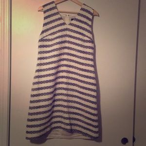 Jcrew Shift Dress with buttons on shoulder